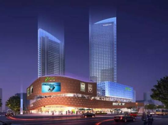 【碧桂园·公园雅筑】清流河商业新时代 带你见证一座大型商城的崛起